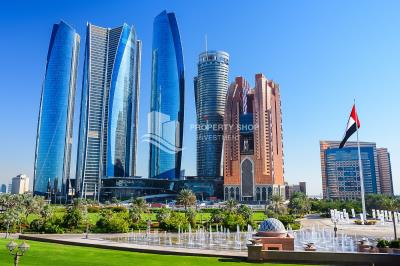 Spacious 1BR Apartment Available now in Etihad Towers!