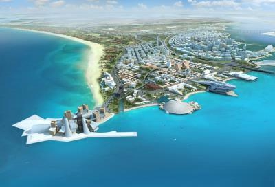 New residential plot in a prime location in Saadiyat Island.