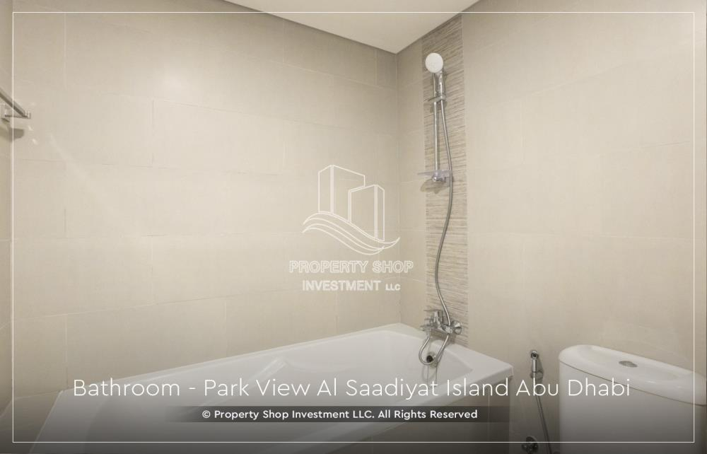 Bathroom-New 1BR Apt with 2 balconies and a walk-in closet.