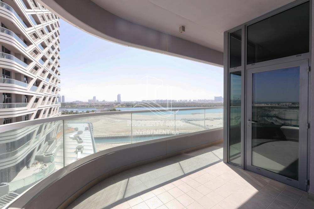 Balcony-Close to everything! Brand new 3BR Apt with stunning Sea view!