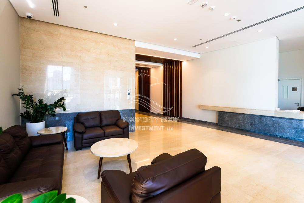 Lobby-1 bedroom in al beed tower for rent!