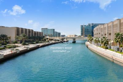 Sophisticated 1br apt. for rent in Al Raha Beach. Call us now!