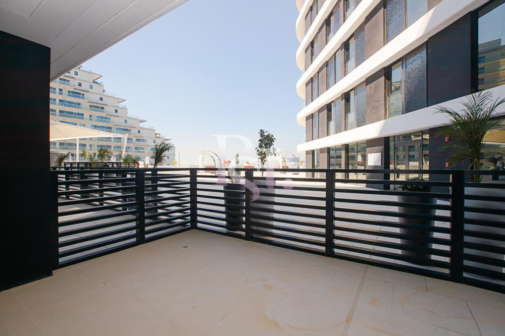 Balcony-Move in now! 1br apartment for in Al Raha Beach!