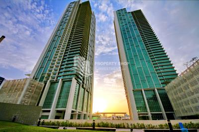 Vacant High Floor 1 Br apartments, , with stunning Sea view