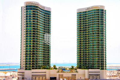 Own a 2 BR apt + M with Partial Sea View.