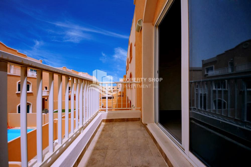 Balcony-2 Bedroom in Mediterranean Village FOR RENT at 75K in 4 Payments!