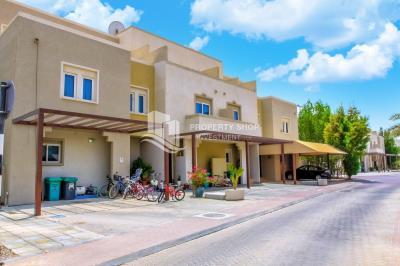 Elegant Single Row Villa in Desert Village Al Reef, 3 BHK