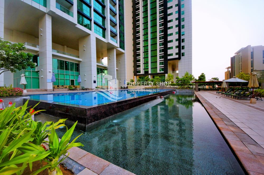 Community-High standard 2BR apartment with amazing view