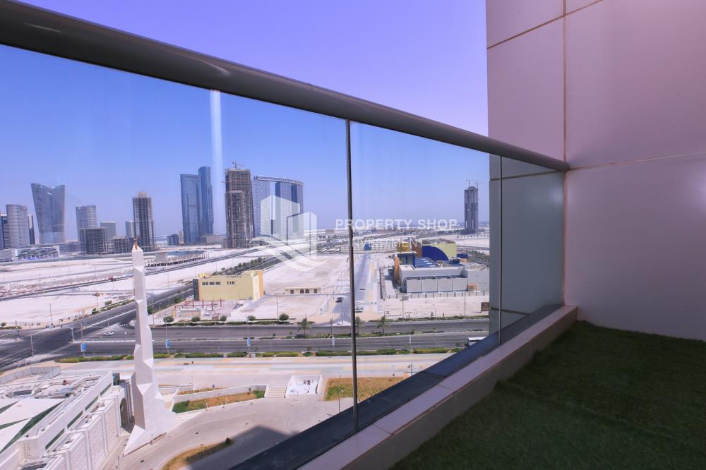 Balcony-High standard 2BR apartment with amazing view