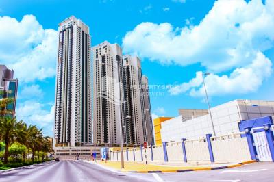 High floor Fully furnished 1BR with stunning sea view available for rent in August!