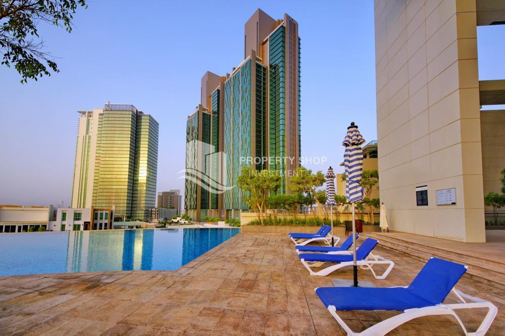 Facilities-1BR Apt for Sale in Marina Blue, Al Reem Island.