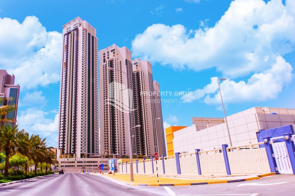 Property-1 bedroom apartment, for sale in Marina Blue, Al Reem Island.