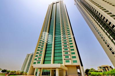 1 BR Apartment w/ Spacious Kitchen + Gorgeous City Views for sale in Marina Blue Tower.