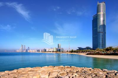 Ready to move in, 1 BR apartment in Corniche Abu Dhabi