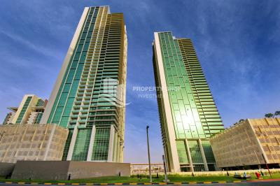 Sea view 1BR on a high floor, Fully furnished.