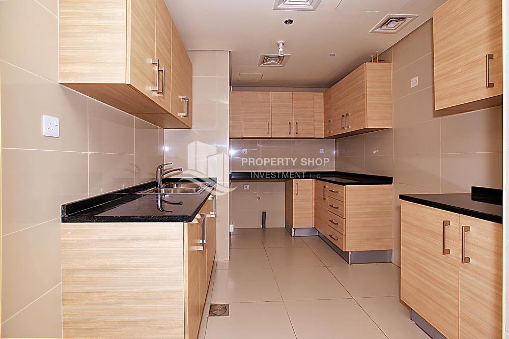 Kitchen-1 BR Apartment with Partial Sea View for sale in Ocean Terrace.