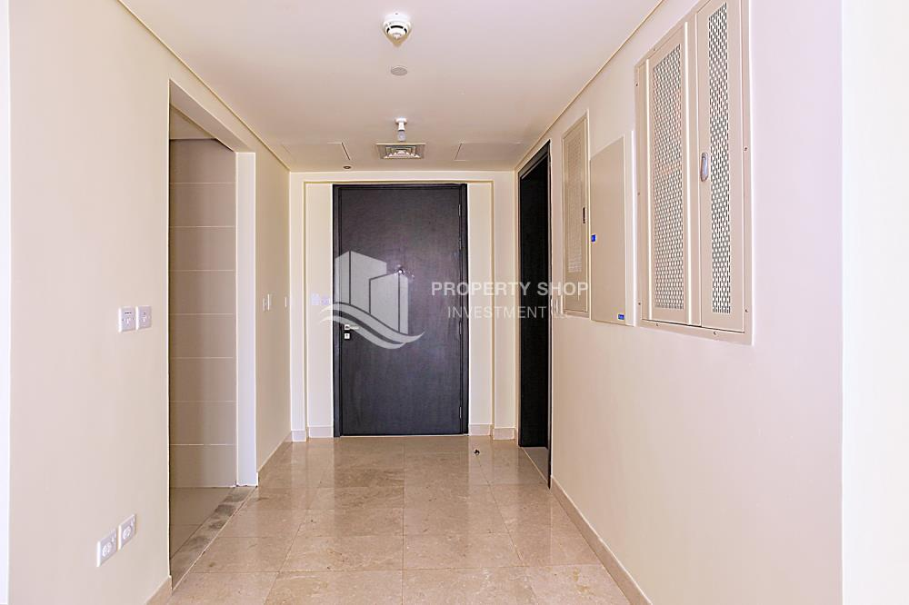 Foyer-1 BR Apartment with Partial Sea View for sale in Ocean Terrace.