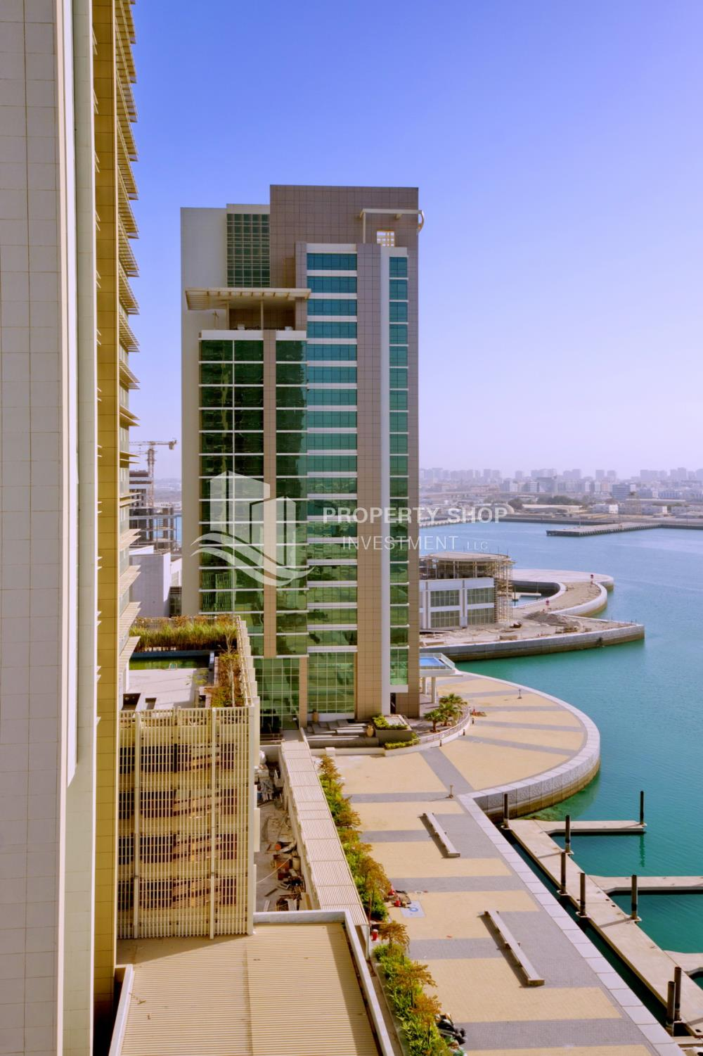 Community-1 BR Apartment with Partial Sea View for sale in Ocean Terrace.