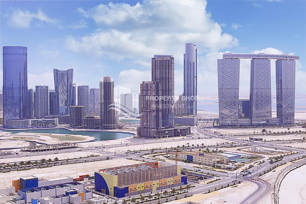 Community-Stunning Apartment in Mangrove Place, Al Reem Island offered at LOW price!