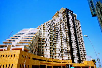 One month free! Spacious canal facing 2BHK + balcony available for rent in Mangrove Place