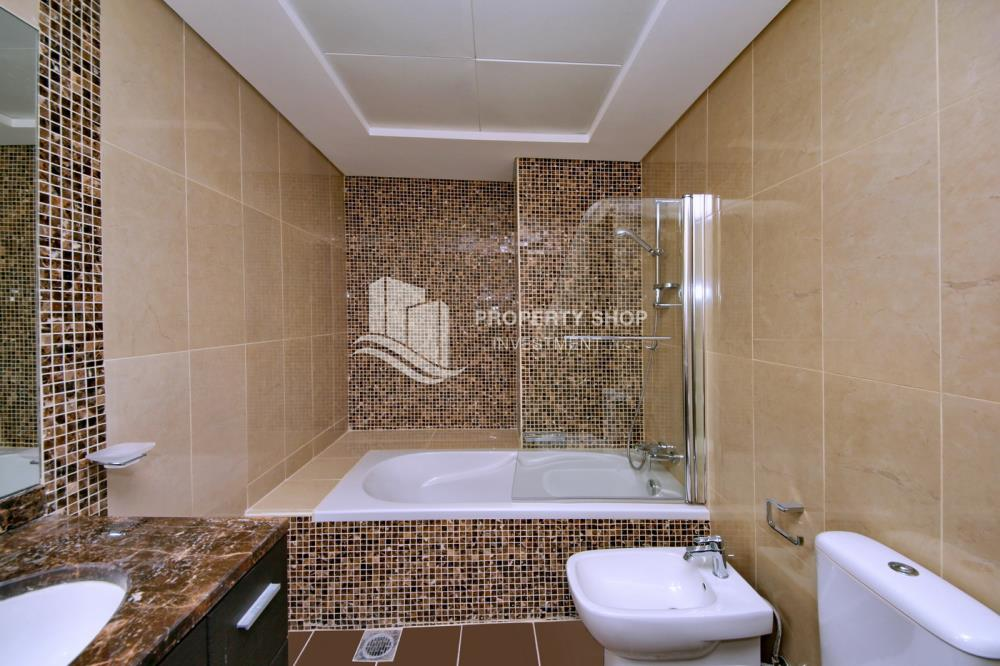 Bathroom-2BR on High Floor with modern facilities- Modified Unit