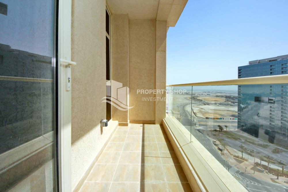Balcony-2BR on High Floor with modern facilities- Modified Unit