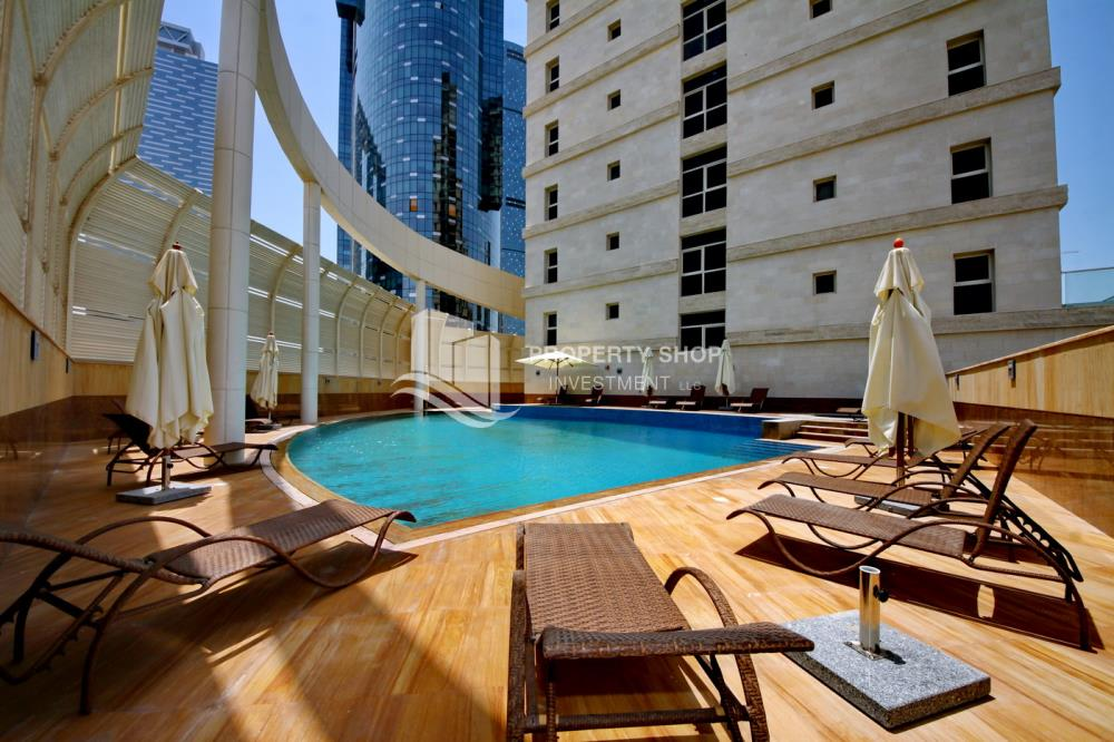 Facilities-Great Deal for Spacious 1 BR in Mangrove Place Al Reem