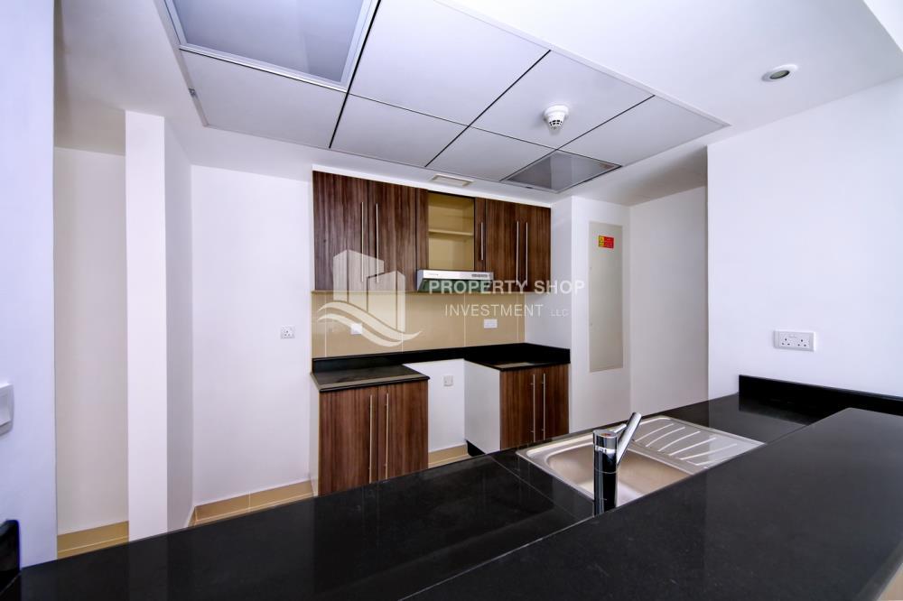 Kitchen-Big type 2 BR -Type C with balcony + storage.