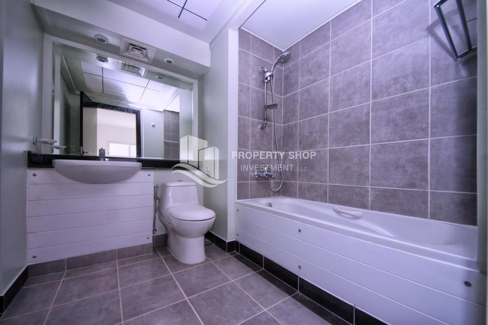 Bathroom-Big type 2 BR -Type C with balcony + storage.