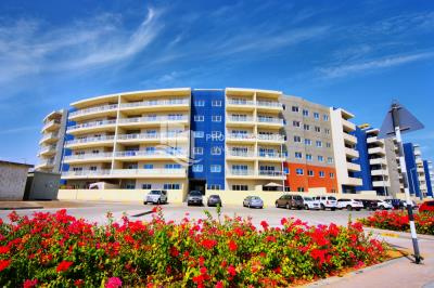 3BR apartment in Al Reef downtown with maid's room, closed kitchen and basement parking for rent