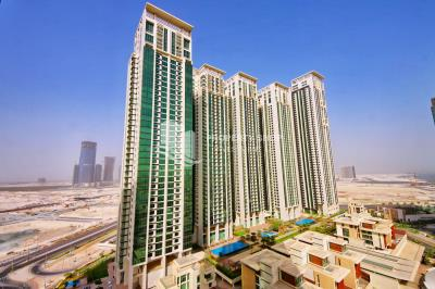 Spacious studio available for rent in Al Maha Tower