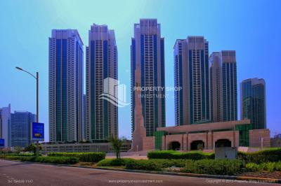 1br, Al Maha Tower, Marina Square FOR RENT!