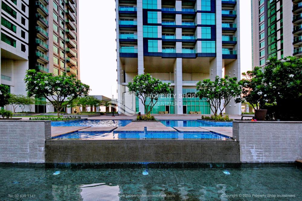Community-1br, Al Maha Tower, Marina Square FOR RENT!
