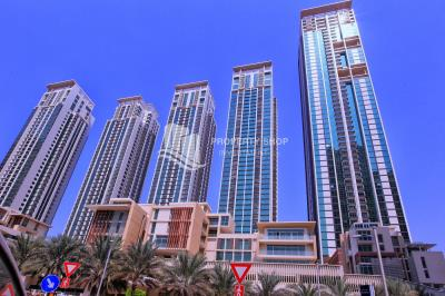 2BR Sea view for Sale in Al Maha Tower with High Return on Investment
