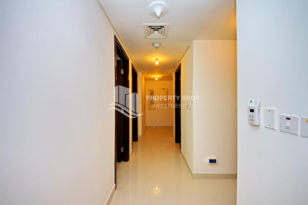 Corridor-2BR Sea view for Sale in Al Maha Tower with High Return on Investment