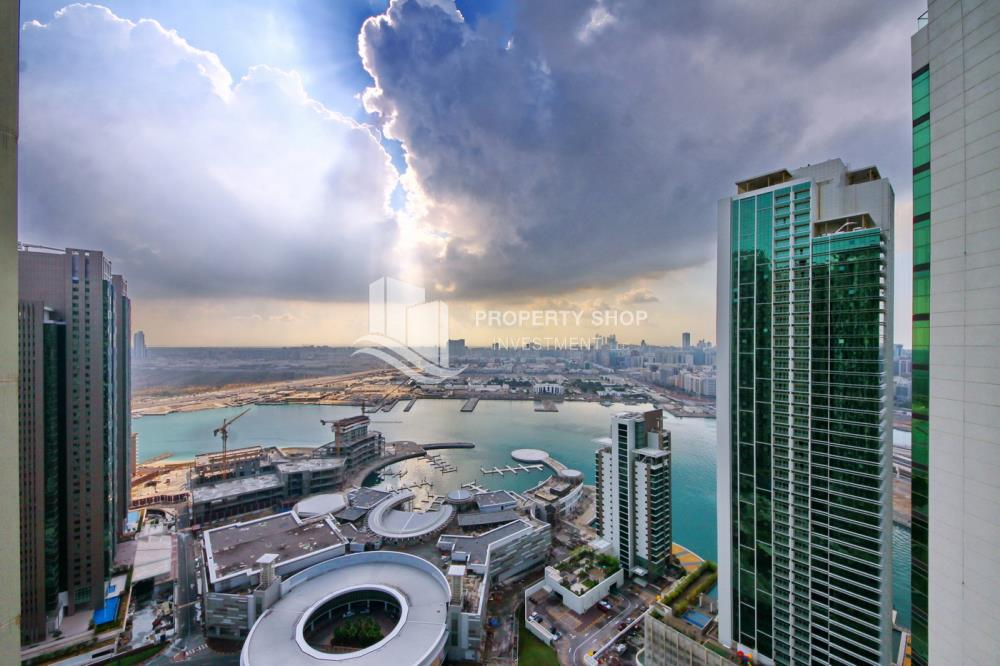 Community-2BR Sea view for Sale in Al Maha Tower with High Return on Investment