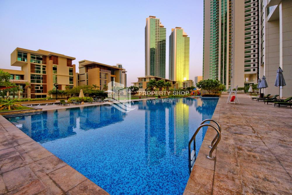Facilities-2BR Sea view for Sale in Al Maha Tower with High Return on Investment