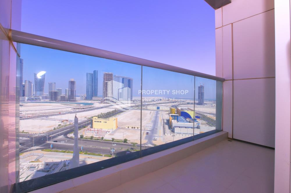 Balcony-Amazing 2BR for sale in Marina Heights 2