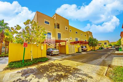 Serene environment in this 3BR Villa in Khannour community.