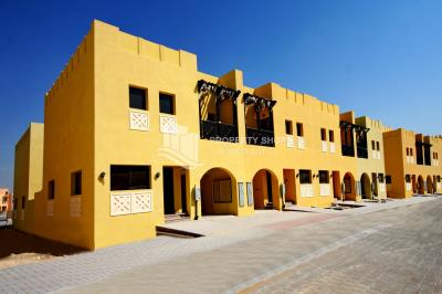 Brand New 2BR Middle row villa for rent in Hydra Village
