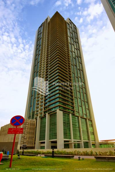 1 br apartment with sea view for rent in Tala Tower Al Reem Island!