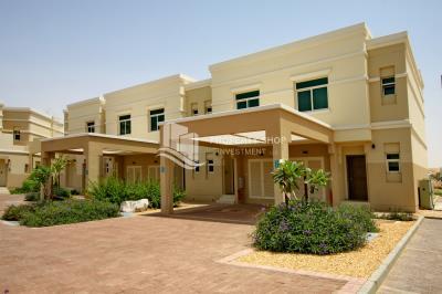 2 BR Townhouse overlooking garden for sale in Al Ghadeer
