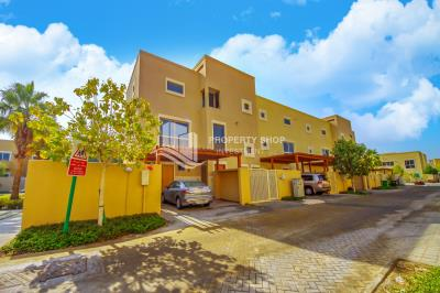 3BR townhouse type a in Al Raha Gardens