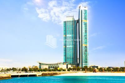 1 BR apt in Corniche area with parking and full facilities