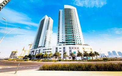 Own a 2 BR Apartment with Sea View in a Medium Floor in Amaya Tower 1.