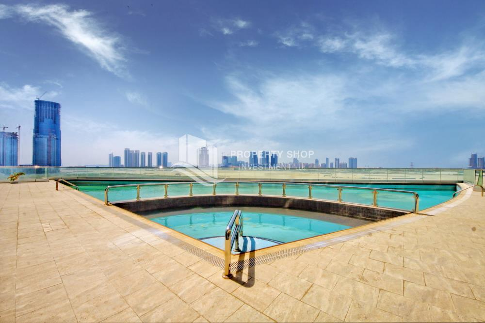 Community-Fully Furnished Mid-floor 1BR Apt with amazing facilities in Oceanscape.