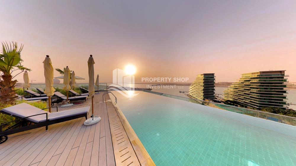 Facilities-Amazing 3 bedrooms front with sea view in Al Hadeel for sale!