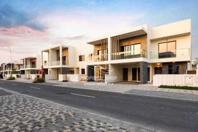 3BR+M townhouse available for rent in Yas Acres.