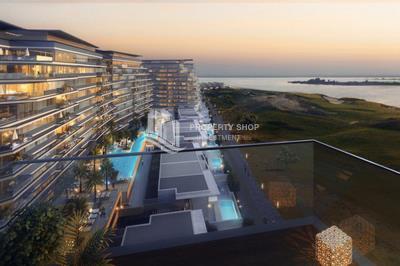 Hot deal! Full sea view 3 bedroom apartment in Mayan Yas Island