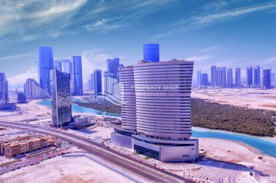 Spacious sea-facing 1BHK, corner unit available for sale in Oceanscape
